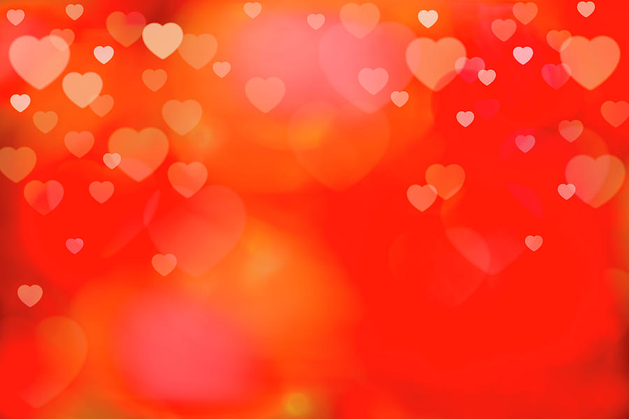 Valentine Background Photograph by Tetra Images