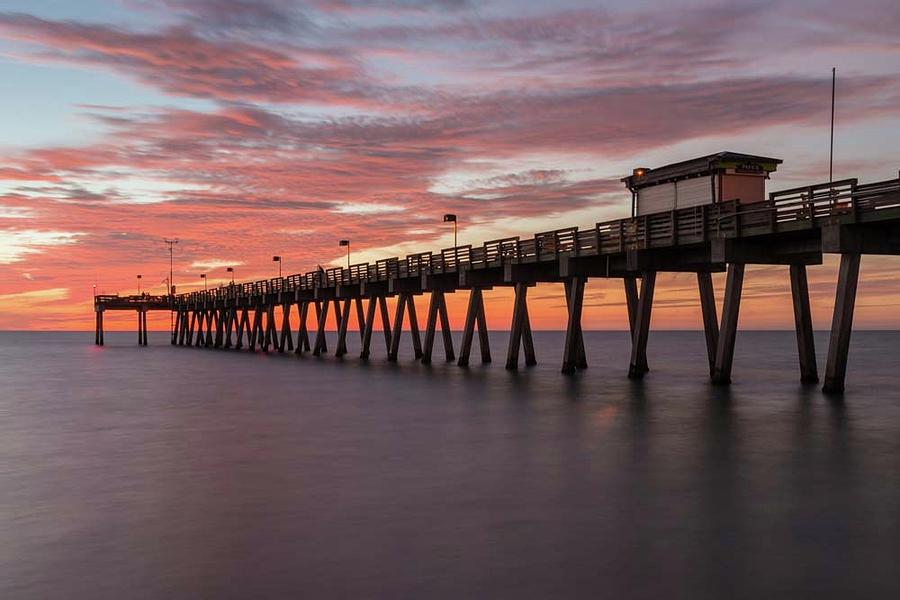 Venice Pier Sunset by Paul Schultz
