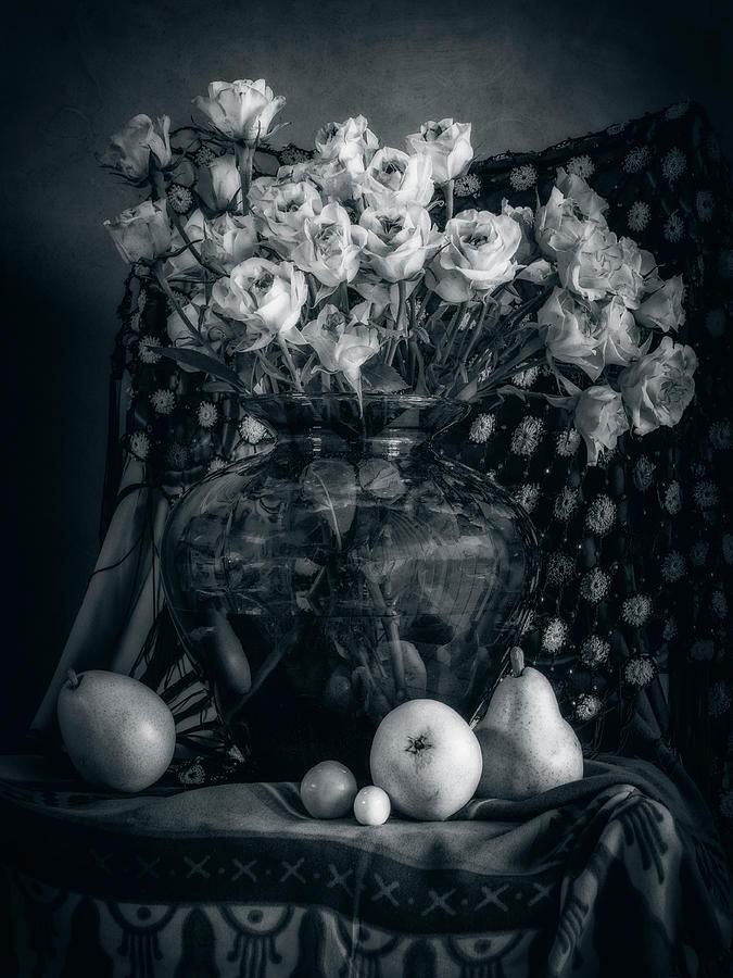 Vintage Roses by Sandra Selle Rodriguez