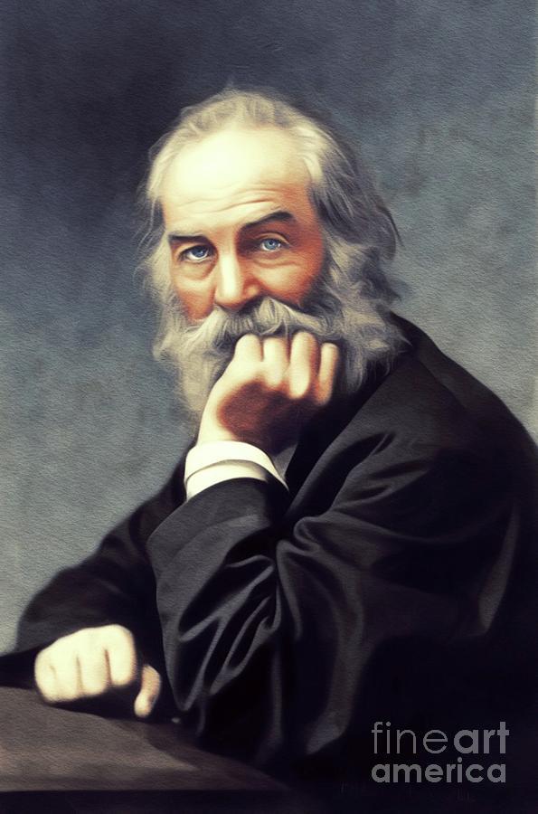 Walt Whitman, Literary Legend Painting