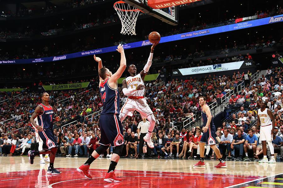 Washington Wizards V Atlanta Hawks - Photograph by Kevin Liles