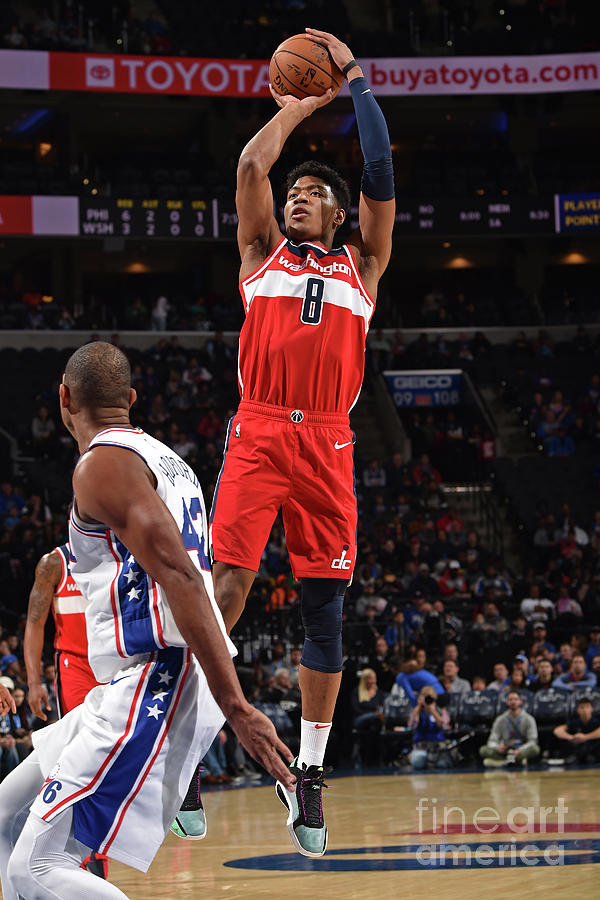 Washington Wizards V Philadelphia 76ers Photograph by David Dow