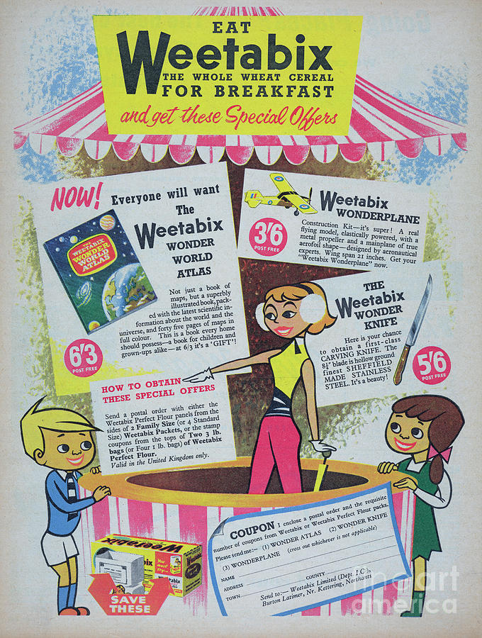 Weetabix Photograph by Picture Post
