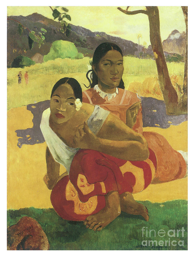 When will you marry by PAUL GAUGUIN