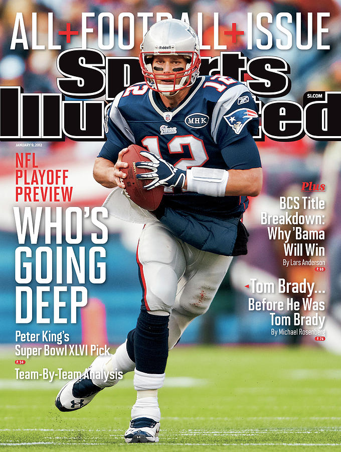 Whos Going Deep 2012 Nfl Playoff Preview Issue Sports Illustrated Cover Photograph by Sports Illustrated