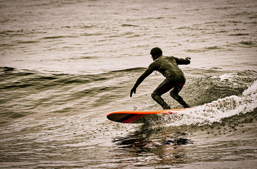 Winter Surfing by David Kay