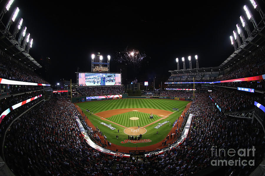 World Series - Chicago Cubs V Cleveland Photograph by Tim Bradbury