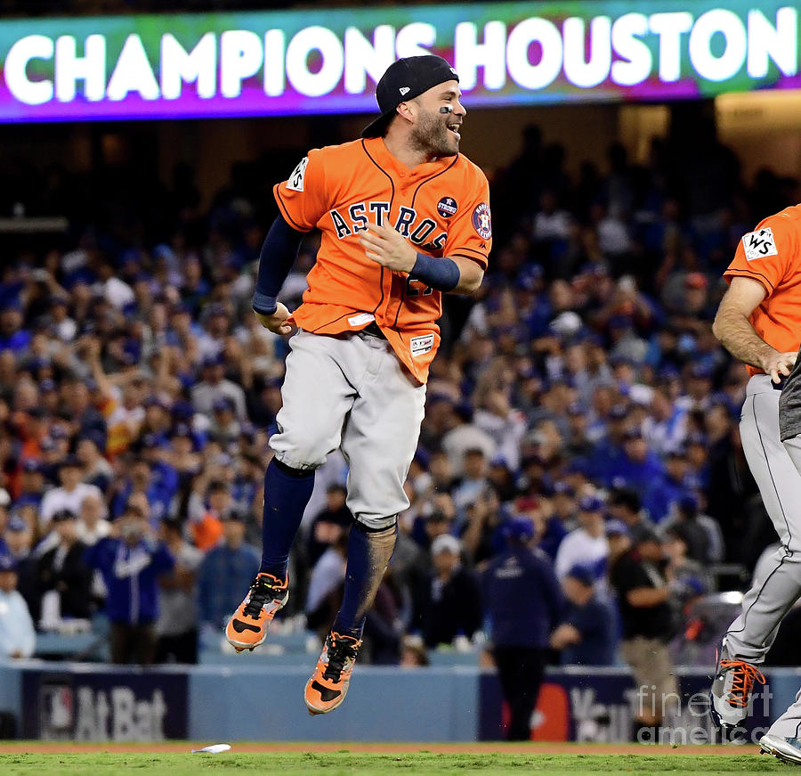 World Series - Houston Astros V Los Photograph by Harry How