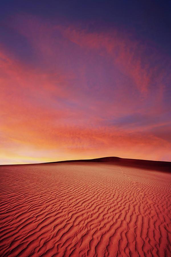 Xl Desert Sand Sunset Photograph by Sharply done