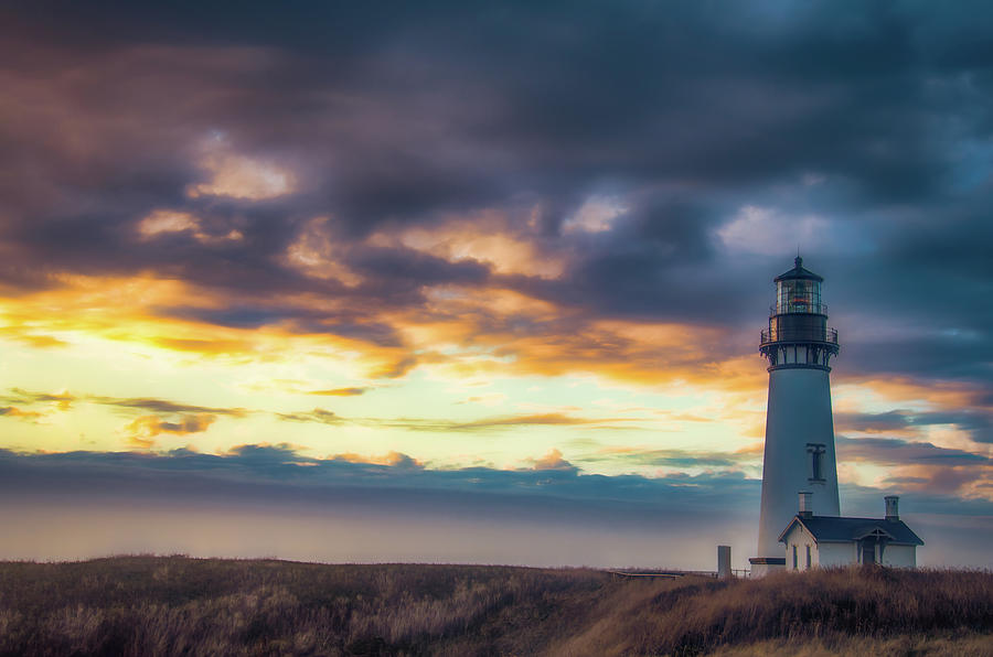 Yaquina Head Lighthouse by Don Schwartz