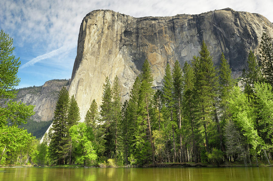 Yosemites El Capitan In The Spring Photograph by Gomezdavid