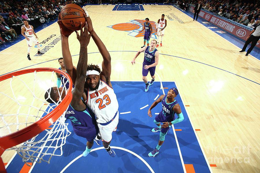 Charlotte Hornets V New York Knicks Photograph by Nathaniel S. Butler