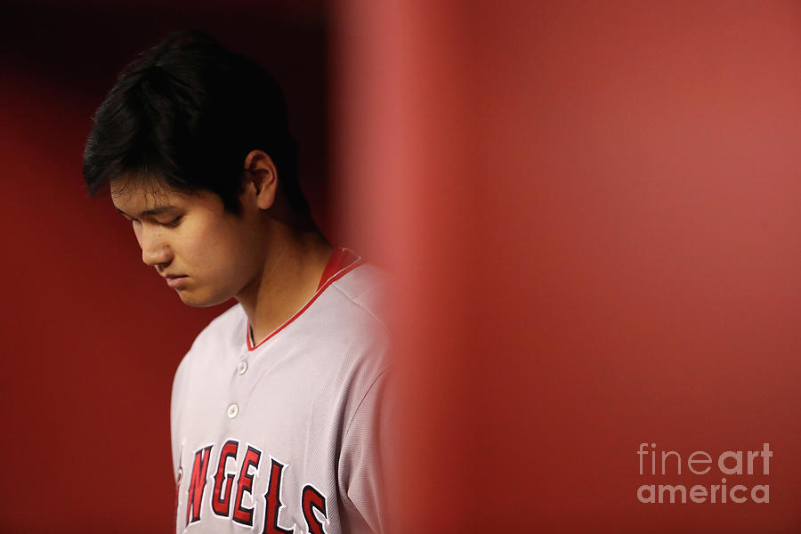 Los Angeles Angels Of Anaheim V Arizona Photograph by Christian Petersen