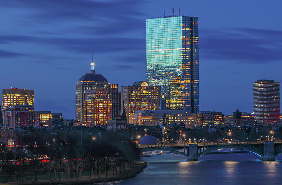 200 Clarendon with Longfellow Bridge by Juergen Roth