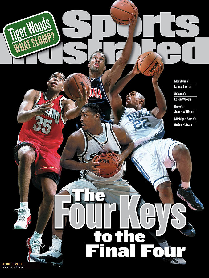 2001 Ncaa Final Four Preview Issue Sports Illustrated Cover Photograph by Sports Illustrated