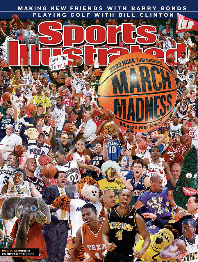 2003 March Madness College Basketball Preview Sports Illustrated Cover Photograph by Sports Illustrated