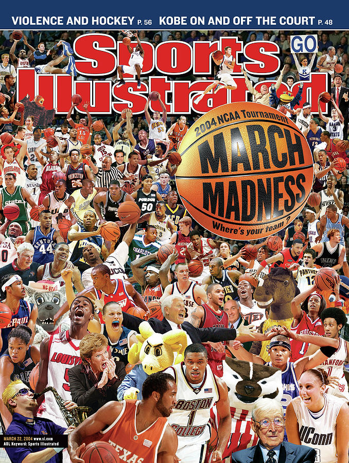 2004 March Madness College Basketball Preview Sports Illustrated Cover Photograph by Sports Illustrated