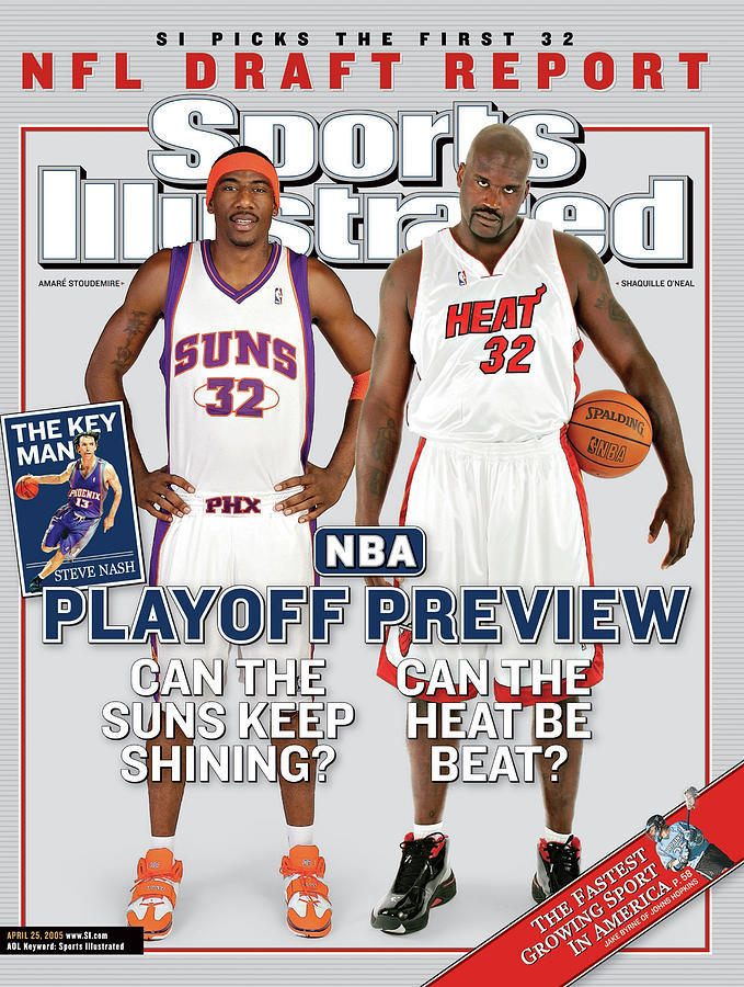 2004 Nba Playoff Preview Issue Sports Illustrated Cover Photograph by Sports Illustrated