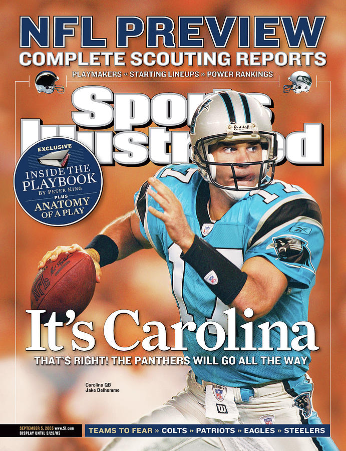 2005 Nfl Football Preview Issue Sports Illustrated Cover Photograph by Sports Illustrated