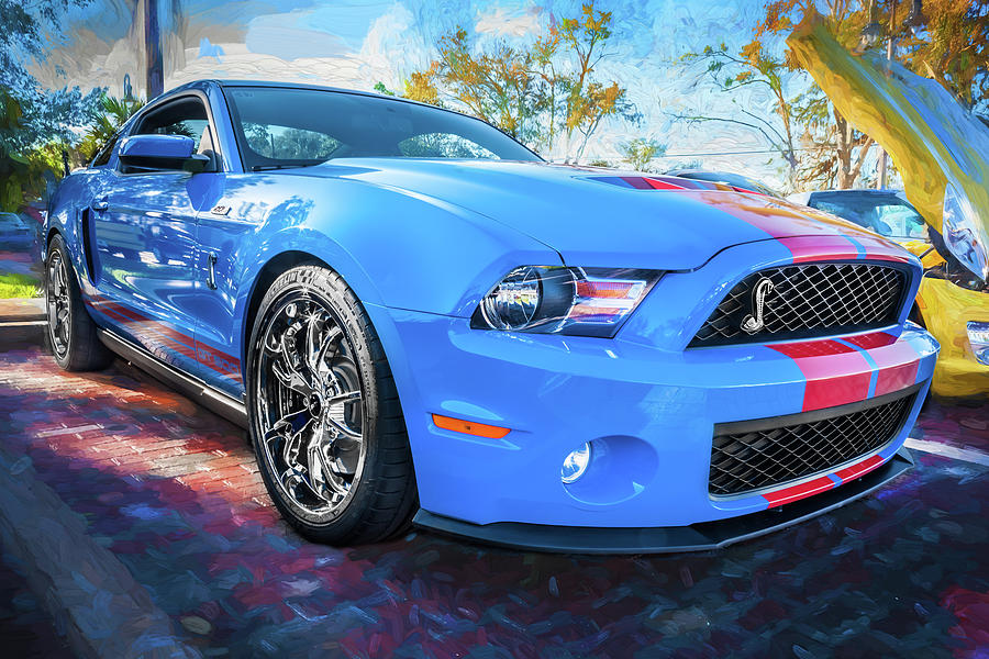 2010 Ford Shelby Mustang GT500 Super Snake 750HP 123 by Rich Franco