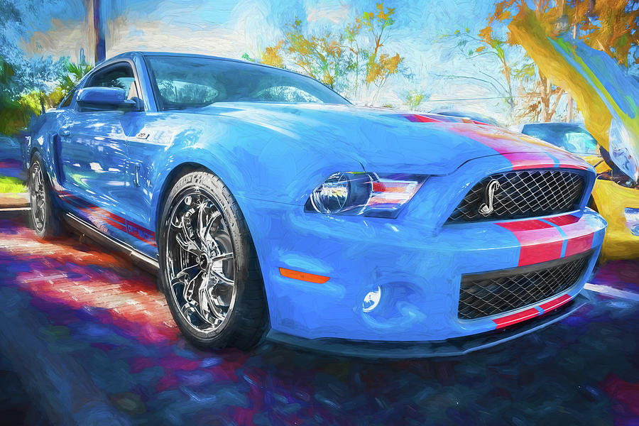 2010 Ford Shelby Mustang GT500 Super Snake 750HP 124 by Rich Franco