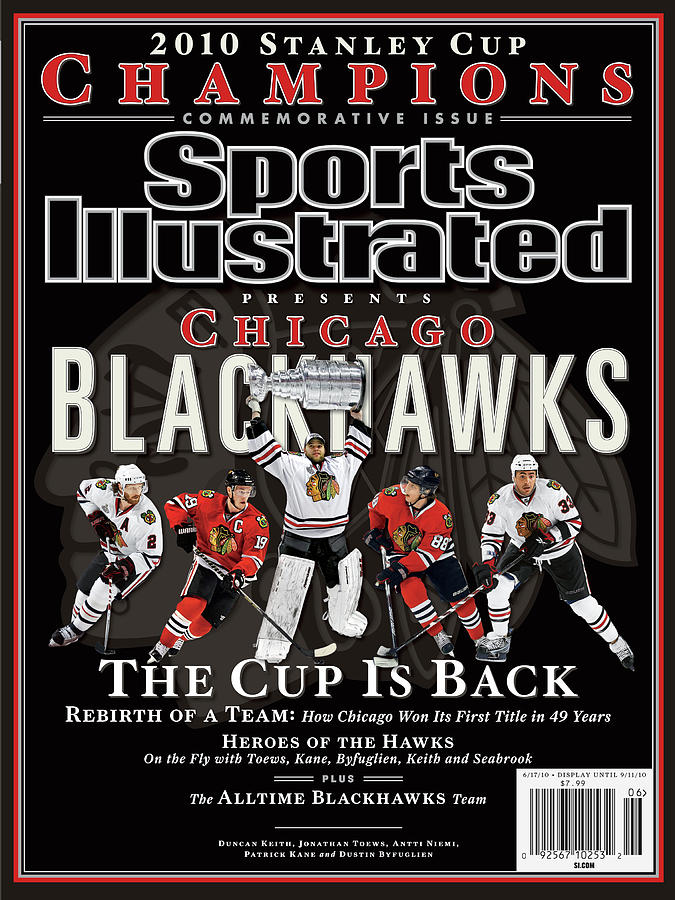 2010 Stanley Cup Finals Sports Illustrated Cover Photograph by Sports Illustrated