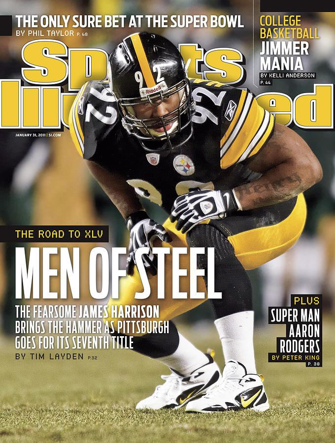 2011 Afc Championship New York Jets V Pittsburgh Steelers Sports Illustrated Cover Photograph by Sports Illustrated