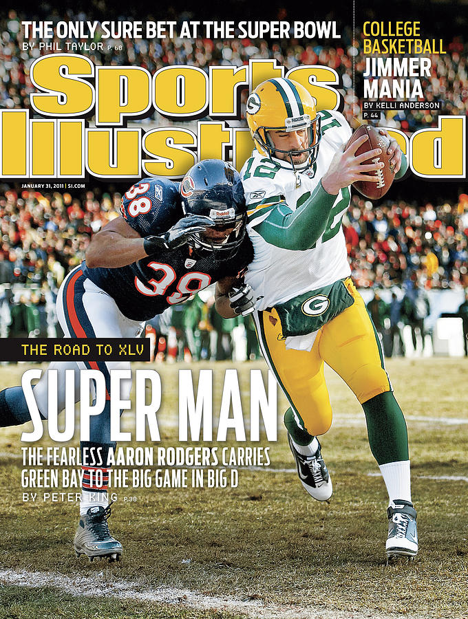 2011 Nfc Championship Green Bay Packers V Chicago Bears Sports Illustrated Cover Photograph by Sports Illustrated