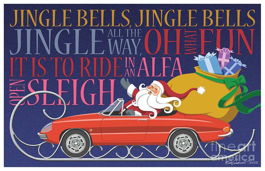 2012 Alfa Club Christmas Card by Rick Andreoli