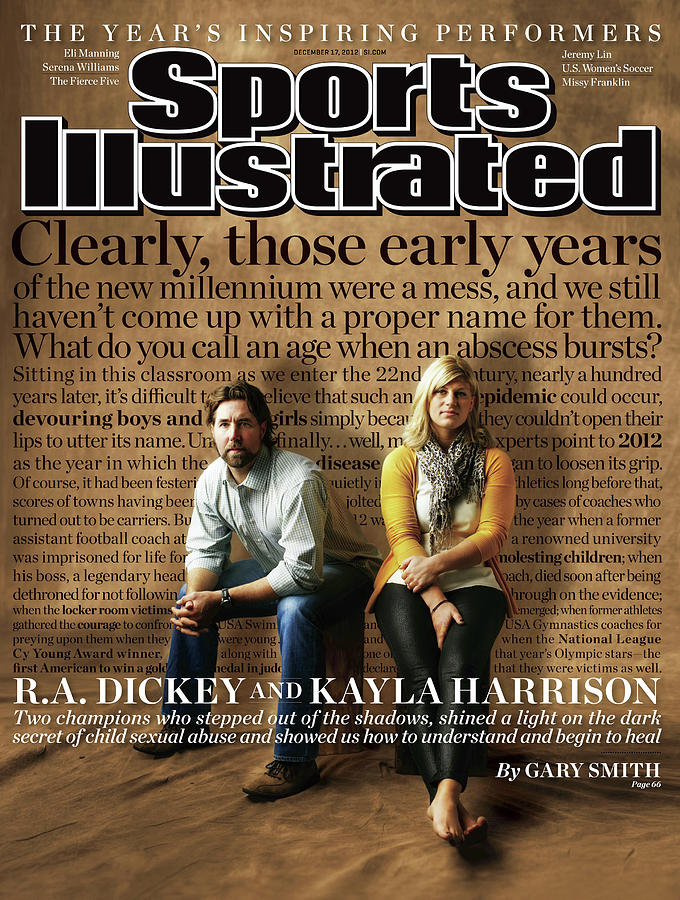 2012 Inspiring Performers Sports Illustrated Cover Photograph by Sports Illustrated