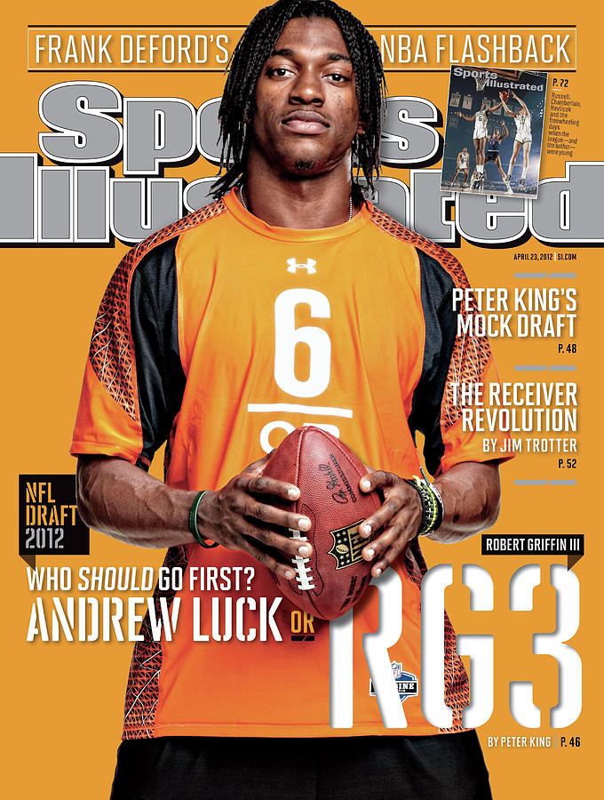 2012 Nfl Draft Preview Issue Sports Illustrated Cover Photograph by Sports Illustrated