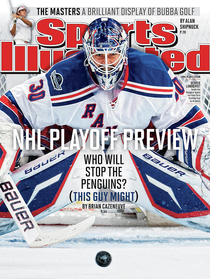 2012 Nhl Playoff Preview Issue Sports Illustrated Cover Photograph by Sports Illustrated