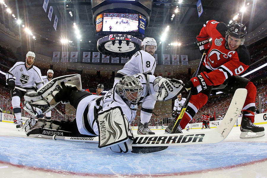 2012 Stanley Cup Finals - Game 1  Los Photograph by Bruce Bennett