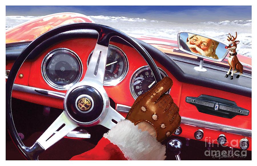 2013 Alfa Club Christmas Card by Rick Andreoli