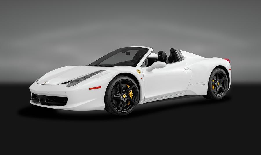2014 Ferrari 458 Spider >> 2014 Ferrari 458 Spider 2014ferrari458spidergray186067 2014