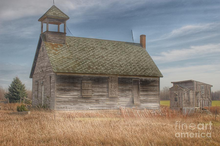2014 - McKenzie Road's Old Schoolhouse by Sheryl L Sutter