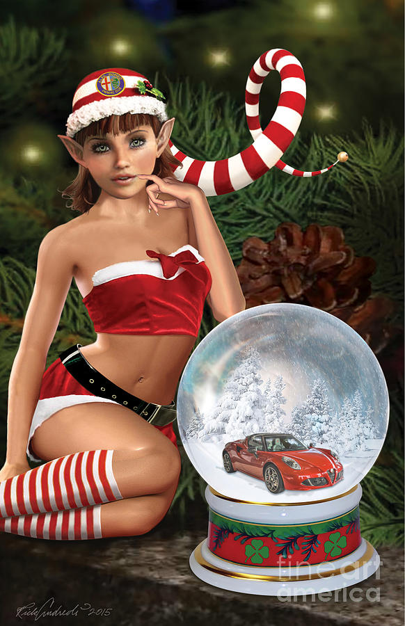2015 Alfa Club Christmas Card by Rick Andreoli