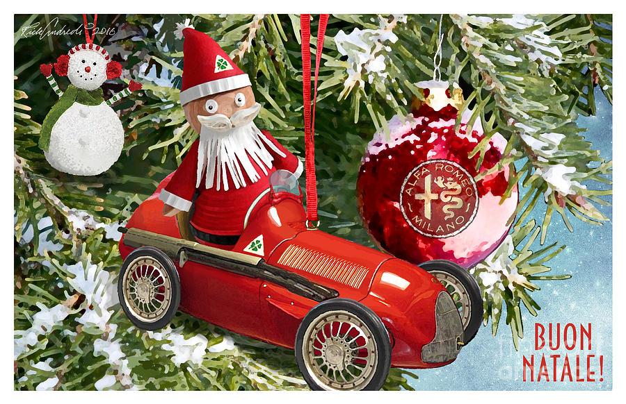 2016 Alfa Club Christmas Card by Rick Andreoli