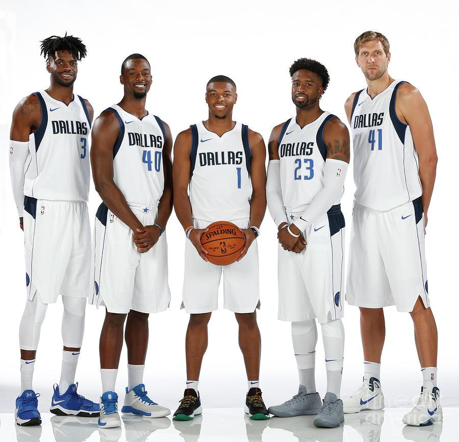 2017-18 Dallas Mavericks Media Day Photograph by Glenn James