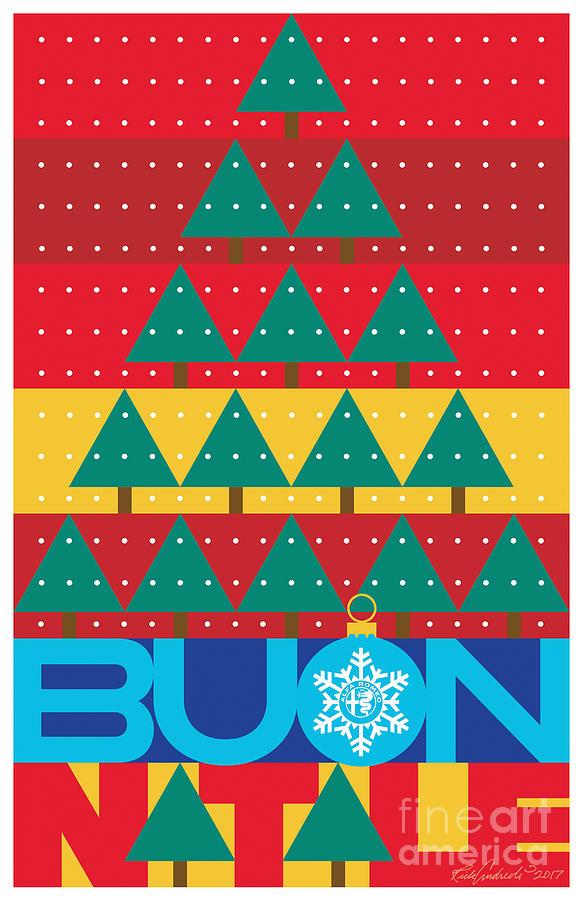 2017 Alfa Club Christmas Card by Rick Andreoli