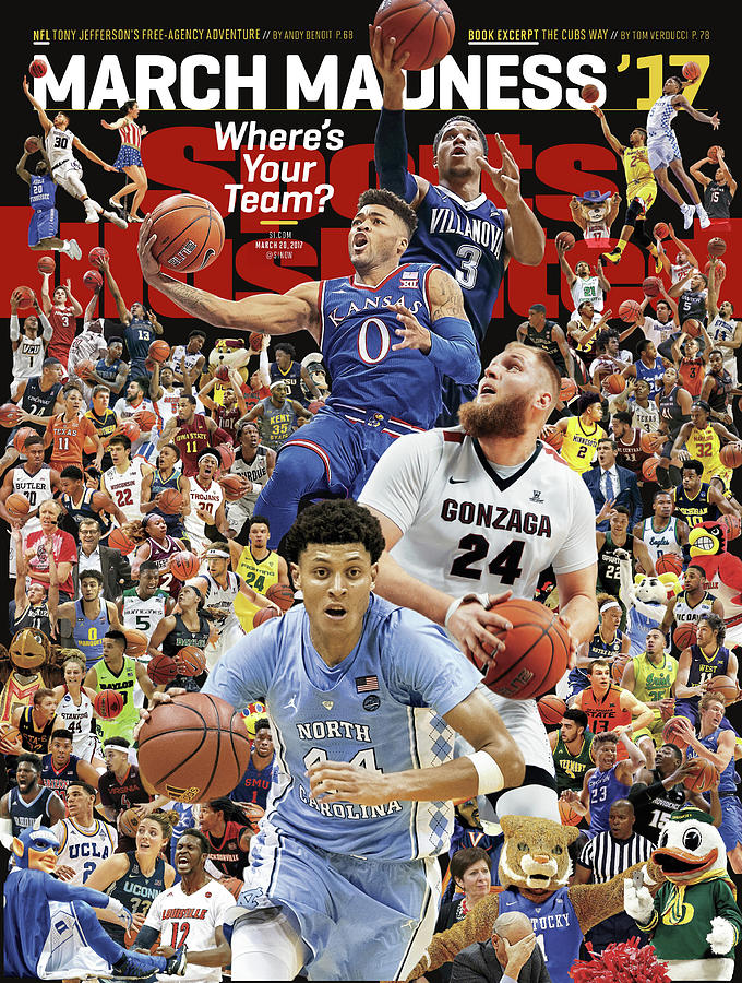 2017 March Madness College Basketball Preview Sports Illustrated Cover Photograph by Sports Illustrated