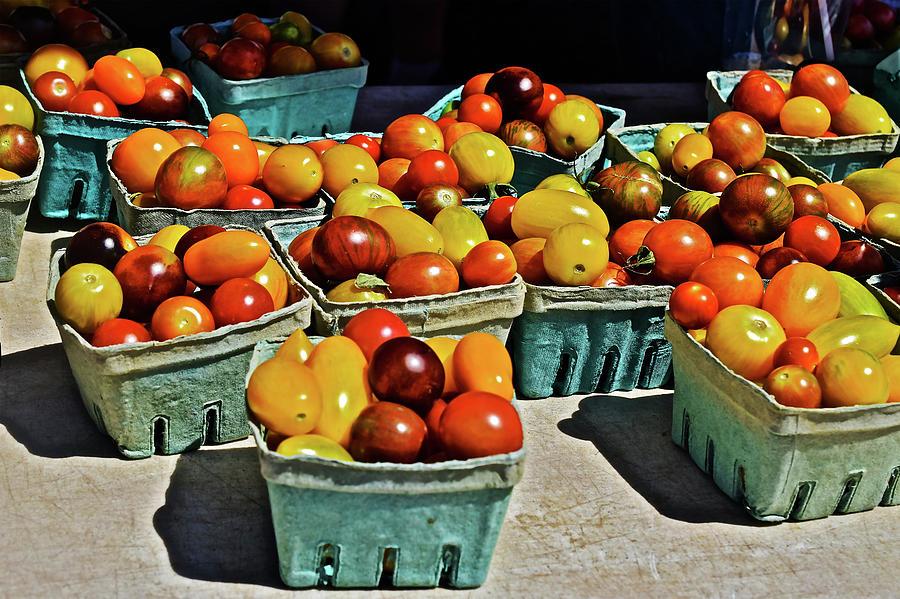 2017 Monona Farmers' Market Heirloom Cherry Tomatoes by Janis Nussbaum Senungetuk