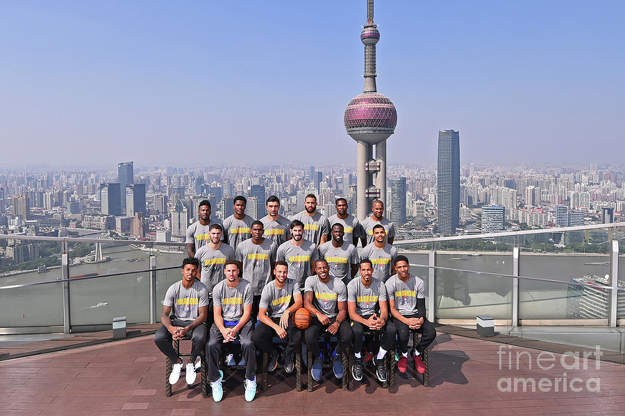 2017 Nba Global Games - China Photograph by Noah Graham