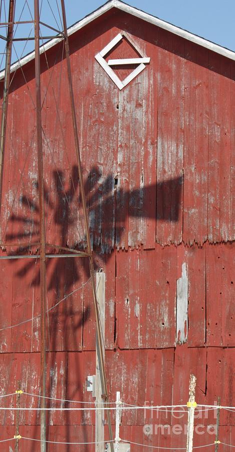 2018 - Windmill Shadows by Sheryl L Sutter