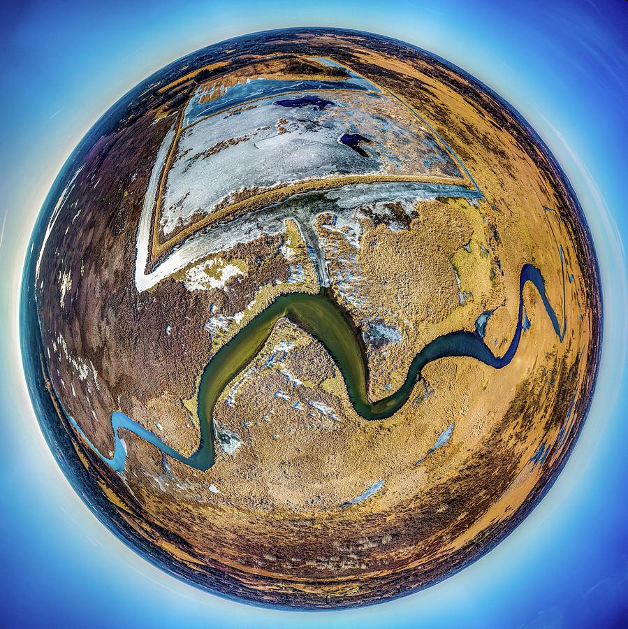 2019-007/365 Vernon Marsh Little Planet by Randy Scherkenbach