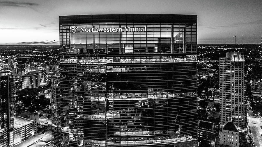 2019-034-365 Top of the Tower Monochrome by Randy Scherkenbach