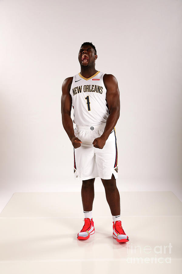 2019-20 New Orleans Pelicans Media Day Photograph by Layne Murdoch Jr.