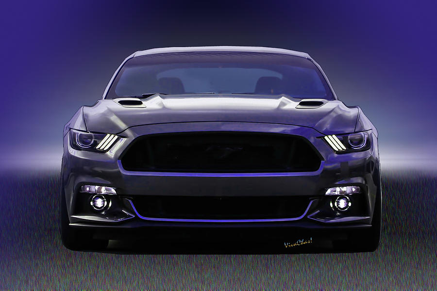 2019 6th Generation Ford Mustang Commin AtCha by Chas Sinklier
