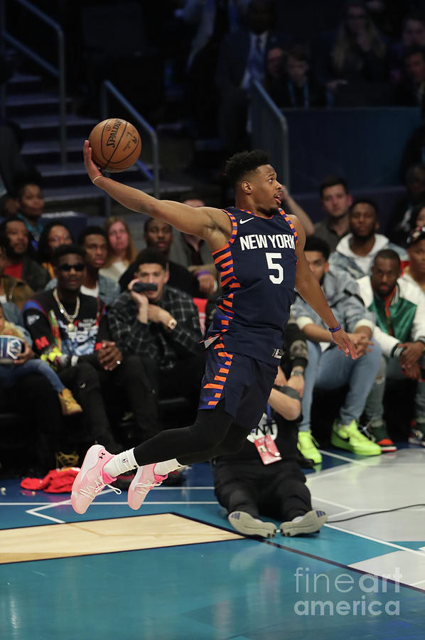 2019 At&t Slam Dunk Contest Photograph by Joe Murphy