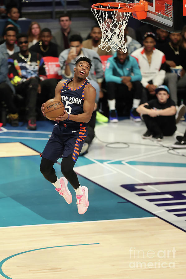 2019 At&t Slam Dunk Contest Photograph by Kent Smith